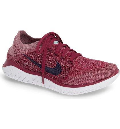 Nike Free RN Flyknit 2018 Running Shoe (Women)   Nordstrom