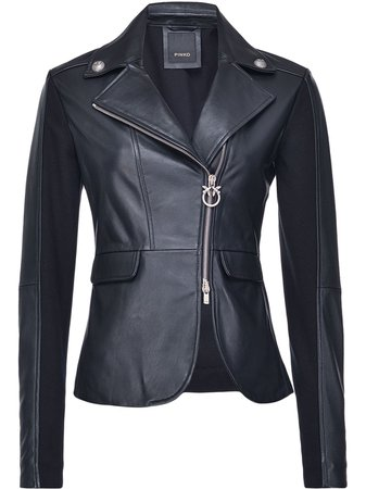 Pinko Fitted Leather Jacket - Farfetch
