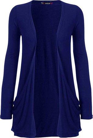 Violet Blue Cardigan (Long-Sleeve)