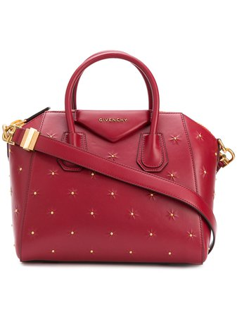 Givenchy red tote bag