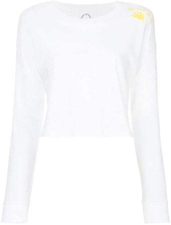 cropped longsleeved T-shirt