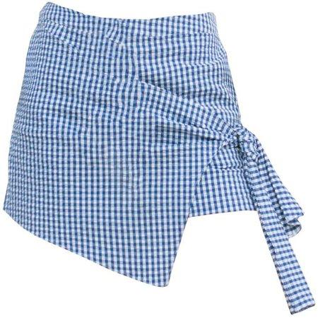 Tomcsanyi - Solymar Blue White Overlap Shorts