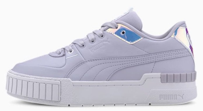 purple lavender sneaker puma shoe