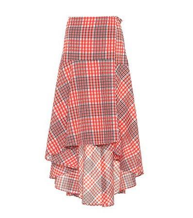 Charron cotton-blend skirt