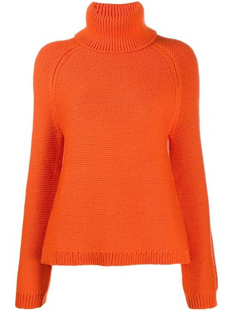 JOSEPH chunky knit roll neck jumper