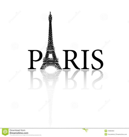 Paris text stock vector. Illustration of french, background - 41890363