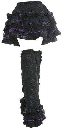 skirt w leg warmers