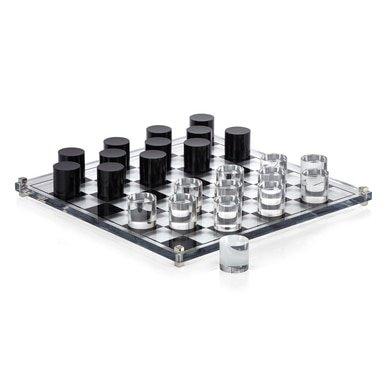 Acrylic Checkers   Zgallerie