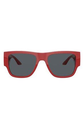 Versace 57mm Rectangular Sunglasses | Nordstrom
