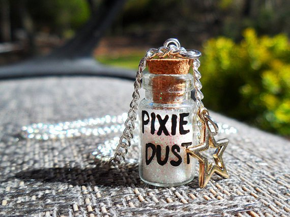 Bottle of Tinker Bell's Pixie Dust Necklace | Disney Every Day