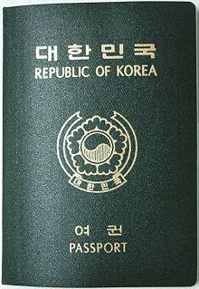 korean passport
