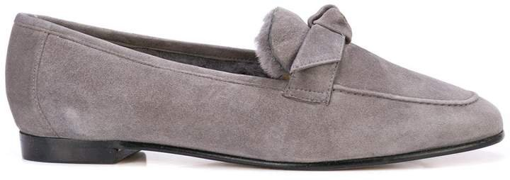 lamb fur lined loafers