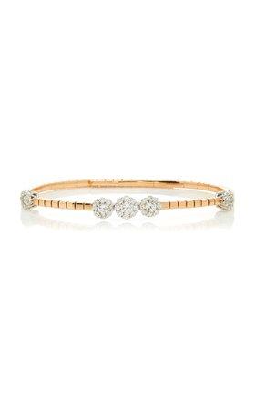 Yeprem 18K Rose & 18K White Gold Pink Strada Bracelet