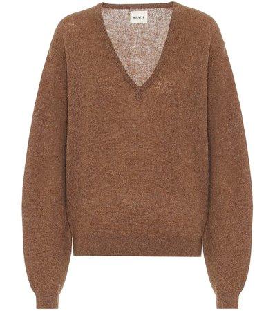 Stretch-Cashmere Sweater - Khaite   Mytheresa