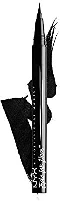 NYX PROFESSIONAL MAKEUP Epic Ink Liner, Waterproof Liquid Eyeliner, Black: Garden & Outdoor