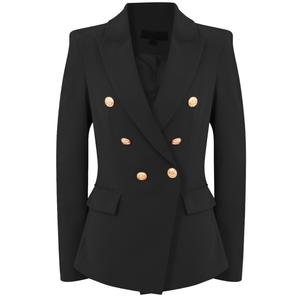 Victoria Balmain Inspired Tailored Blazer - Black – Style Of Beyond