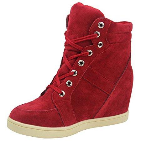 Red Heel Sneaker