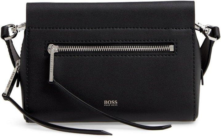 Katlin Leather Crossbody Bag