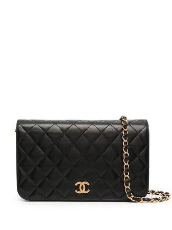 Chanel Pre-Owned 1998 Full Flap Shoulder Bag - Farfetch
