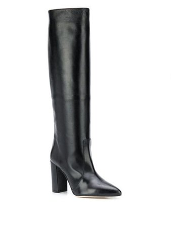 Paris Texas knee-length Pointed Boots - Farfetch