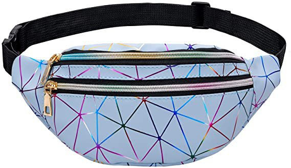 fanny pack blue