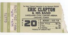 eric clapton vintage ticket - Google Search