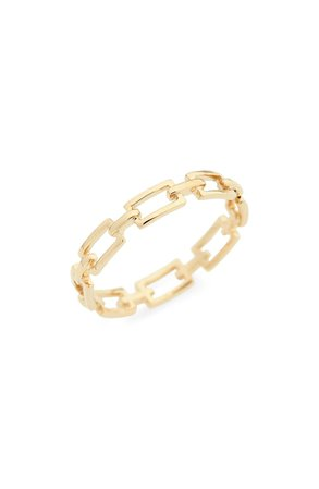 Bony Levy 14K Gold Link Stacking Ring (Nordstrom Exclusive) | Nordstrom