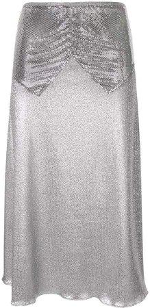 mesh panel skirt