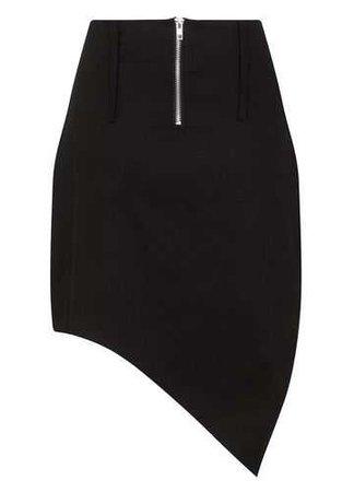 Necessary Evil Larunda Asymmetric Skirt