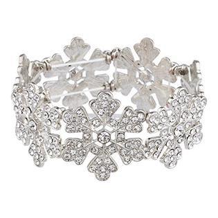 silver snowflake bracelet - Google Search