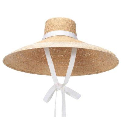 Nomad raffia hat