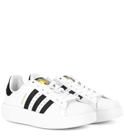 Superstar Bold leather sneakers