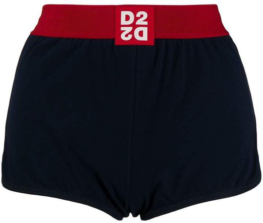 Logo Patch Shorts