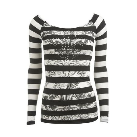 Laser Cut Tattoo Tee - Teen Clothing by Wet Seal