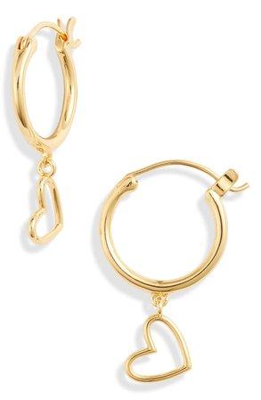 gorjana Heart Huggie Earrings | Nordstrom