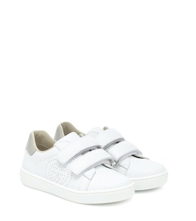 Gucci Kids - Leather sneakers | Mytheresa