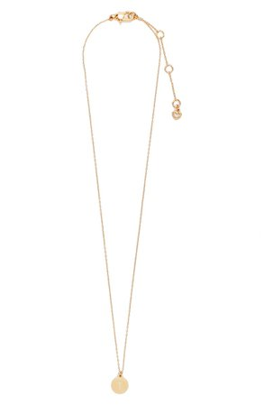 kate spade new york mini initial pendant necklace | Nordstrom