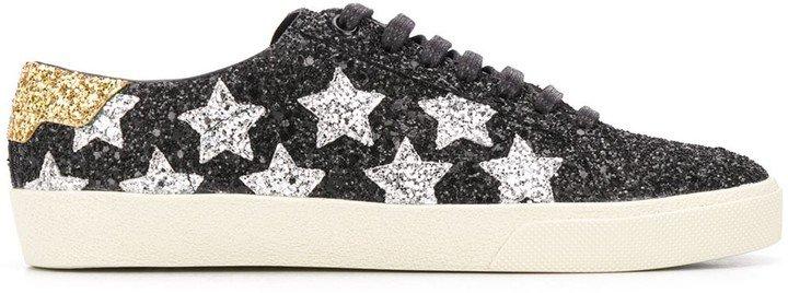 Court Classic glitter sneakers