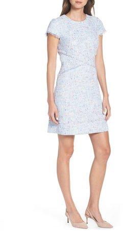 Sheath Tweed Sheath Dress