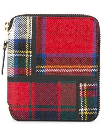 Multicolour Comme Des Garçons Wallet tartan wallet SA2100TP - Farfetch