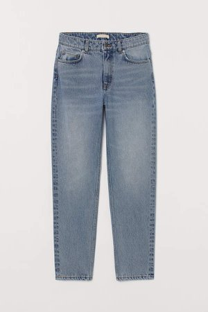 Slim Ankle Jeans - Blue