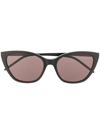 Saint Laurent Eyewear SL M69 cat-eye Sunglasses - Farfetch