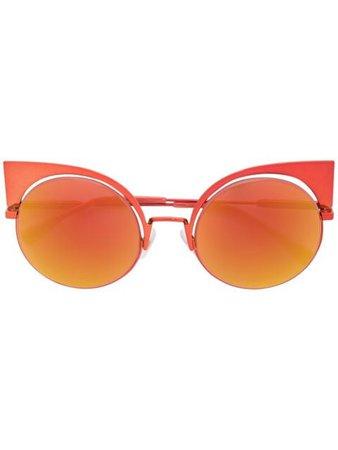 Fendi Eyewear Eyeshine Sunglasses - Farfetch