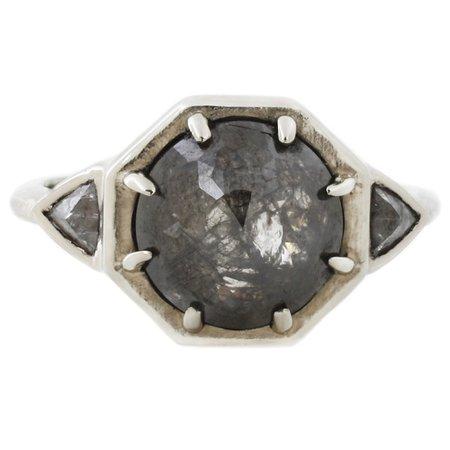 Lauren Wolf three diamond ring