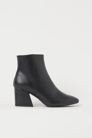 Boots - Black - Ladies   H&M US