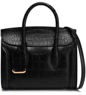 Heroine Croc-effect Leather Tote