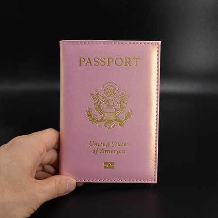 Travel Cute USA Passport Cover Women Pink USA Passport Holder American Cose for Passports Girls Case Passport Wallet-in Card & ID Holders from Luggage & Bags on Aliexpress.com | Alibaba Group