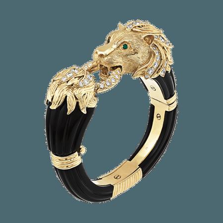 Van Cleef & Arpels, Lion gold bracelet