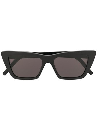 Saint Laurent Eyewear square sunglasses black SL276MICA - Farfetch
