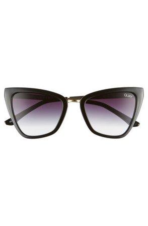 Quay Australia Reina 52mm Mini Cat Eye Sunglasses | Nordstrom